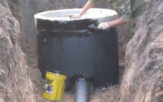 Методы гидроизоляции канализационных железобетонных колодцев