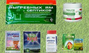 Популярные средства для любых выгребных ям и туалетов