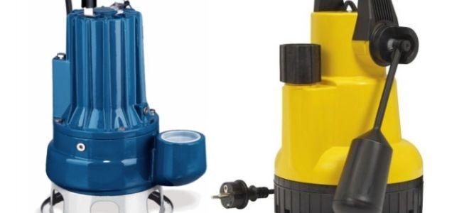 Что такое насос для откачки канализации