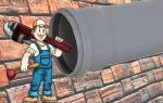 Способы прочистки канализационных труб