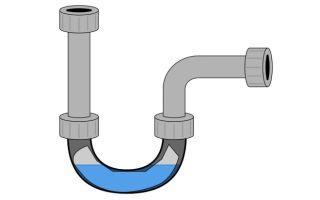Гидрозатвор для внутридомовой канализации