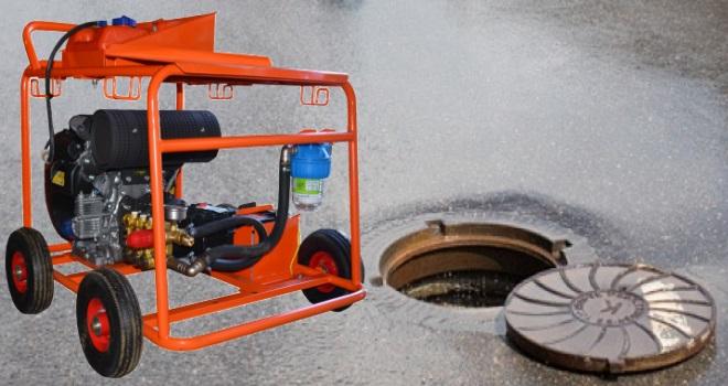 гидродинамическая машина для прочистки канализационных труб