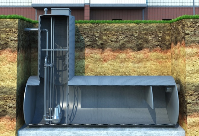 канализационная насосная станция