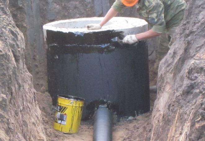 Герметизация железобетонных колодцев жби блоки в челябинске