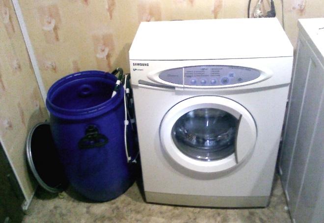 стиральная машина без подключения к водопроводу