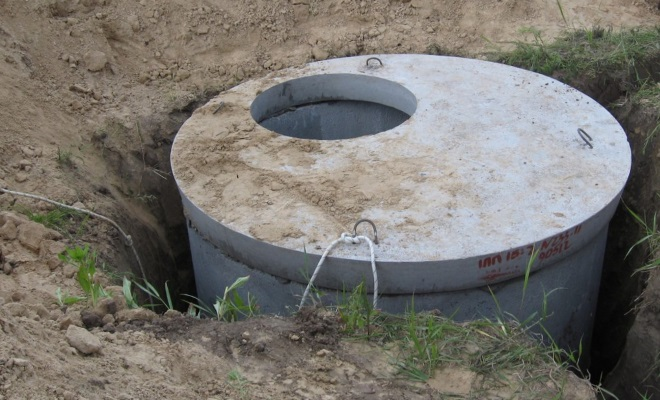 устройство выгребной ямы
